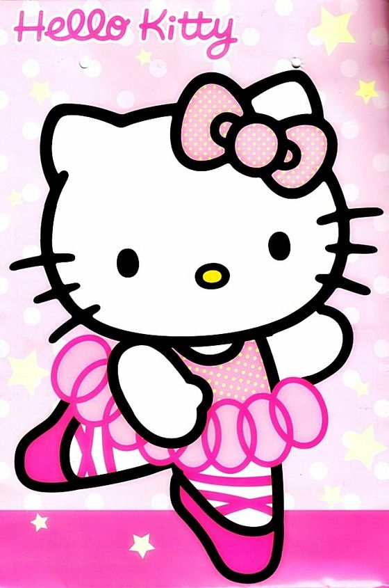 4X6 Hello Kitty Image Window Decal For Home,Office or Car: Batch 1 $6.00
