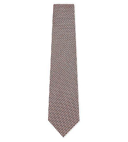 TOM FORD Mini Chevron Silk Tie. #tomford #ties