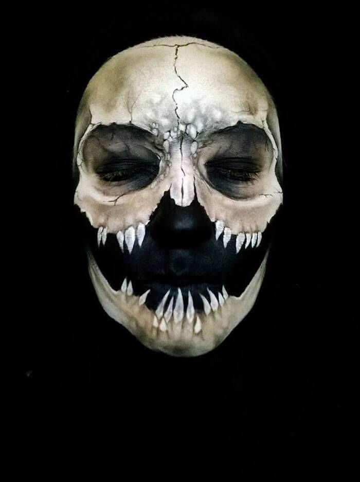 Artist Creates Insane Halloween Make-Up Masks! - iHorror