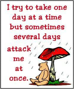 On a bad day. Living with chronic arthritis  rheumatoid arthritis