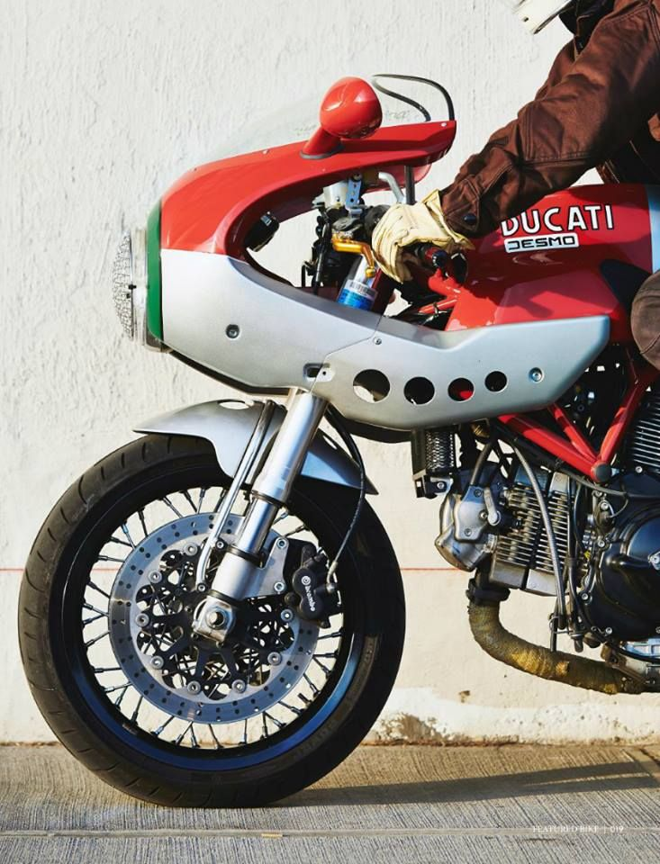 Ducati #motorcycles #caferacer #motos | caferacerpasion.com