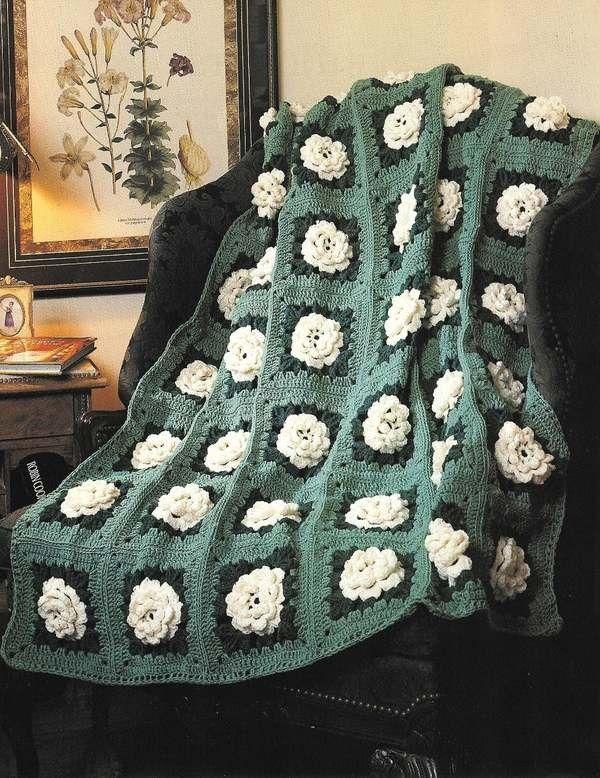 142 best crochet roses images on pinterest crochet afghans crochet pattern via etsy dt1010fo