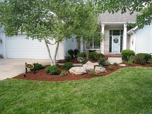 Red Oak Landscaping - rocks in landscaping