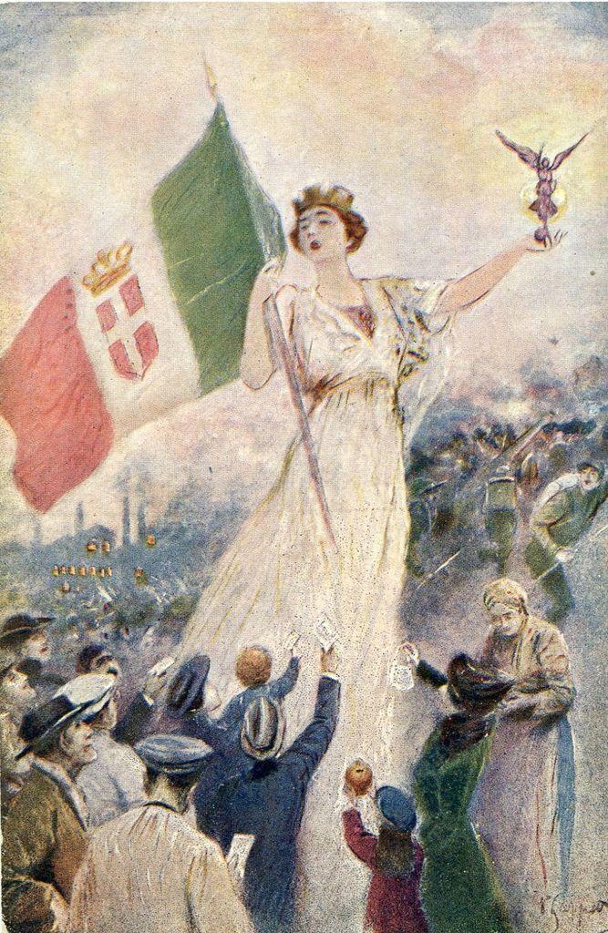 L'Italia turrita è una personificazione o allegoria de l ...