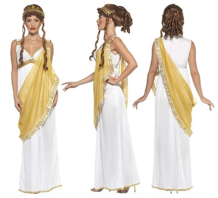 Resultado de imagen para disfraz diosa griega