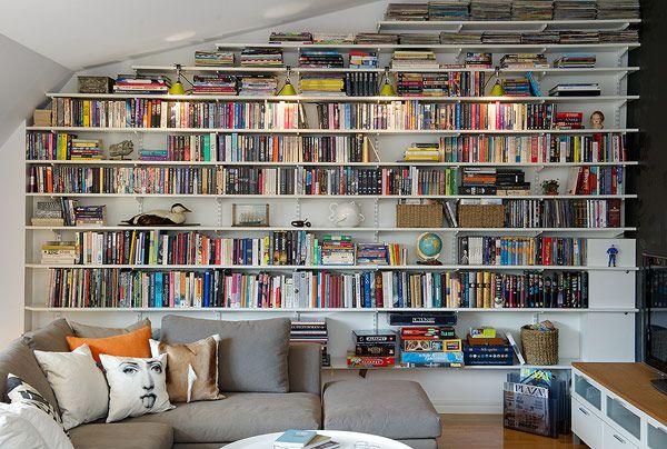 Basement library dream