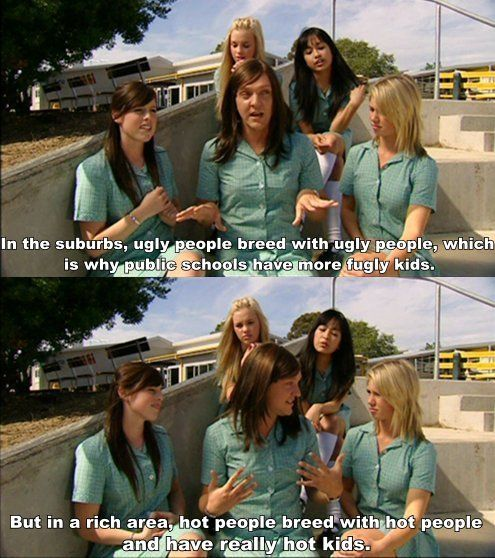 Ja'mie King  - SUMMER HEIGHTS HIGH