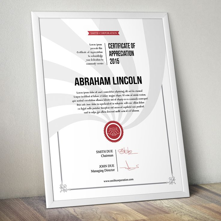 """Simple Multipurpose Certificate of Appreciation / INTRODUCTIONSimple Modern Classy is a Beautiful Graphics Designed. Quickly create a professional looking """"Certificate of Appreciation"""" certificate for any company using this template. Easily change the c…"""