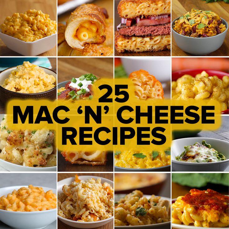 25 Mac 'N' Cheese Recipes by Tasty