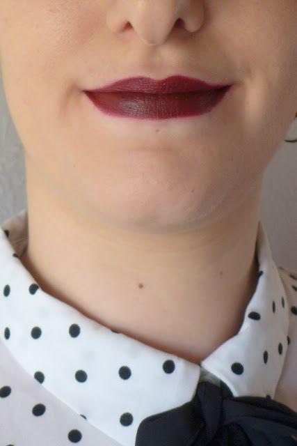 lipstick mac sin (matte)