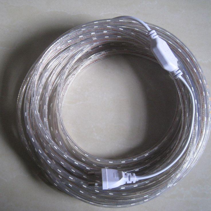 Strip dipimpin fleksibel cahaya smd 3528/2835 220 v 60led/m waterproof 1 m/2 m/3 m/4 m/5 m/6 m/7 m/8 m/9 m/10 m/11 m/15 m/20 m dengan us/eu steker listrik