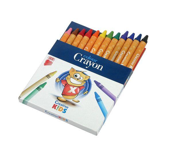Creioane cerate 12/set ICO