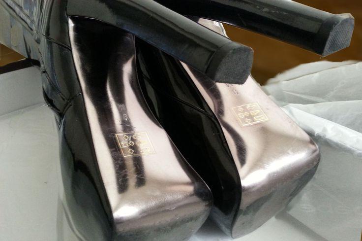 "glitterystarlightpirate: "" Bebe boots Chanukah gift. """