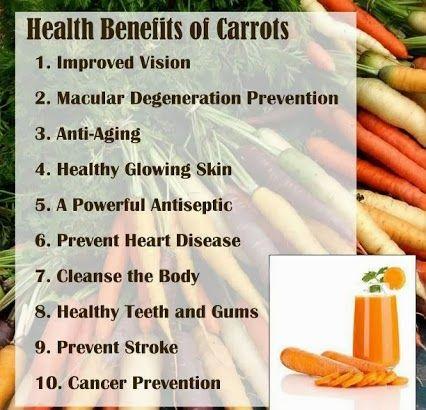 Use Facial Of Benifits Carrots