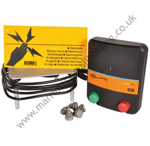 Gallagher Pet Fencing Starter Kit M50 230V - £85.99 ex. VAT