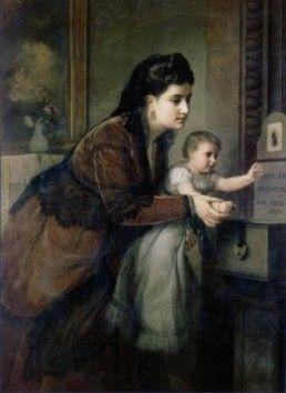 La caridad, 1871.