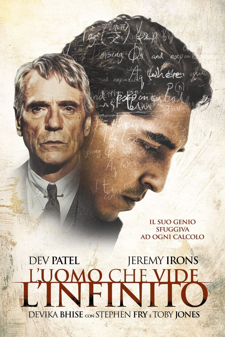 L'uomo che vide l'infinito film completo del 2016 in streaming HD gratis in italiano, guardalo online a 1080p e fai il download in alta definizione.