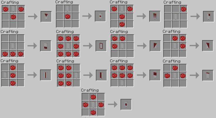 как скрафтить знамя в майнкрафт 1.8