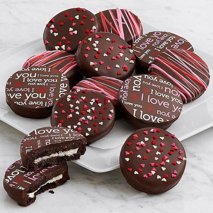 12 Valentine's Dark Chocolate Covered OREO® Cookies