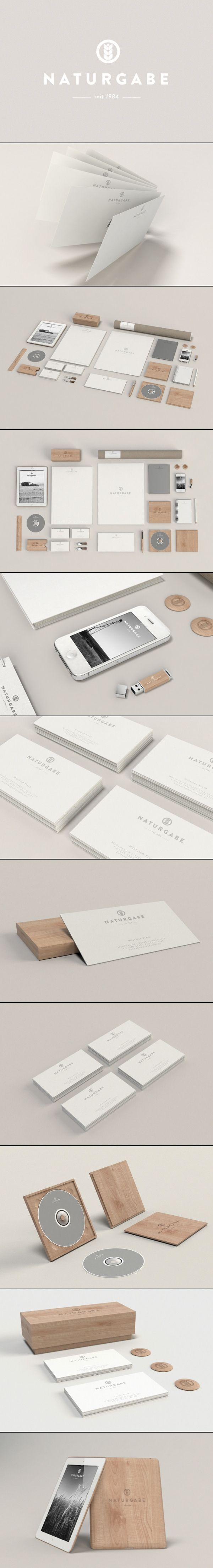 Naturgabe | #stationary #corporate #design #corporatedesign #identity #branding…