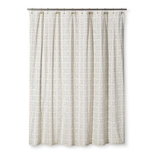 Image Result For Target Mudcloth Shower Curtain With Images