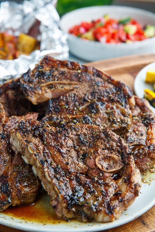 341 best lamb recipes images on pinterest healthy eating habits greek style grilled lamb chops publicscrutiny Image collections