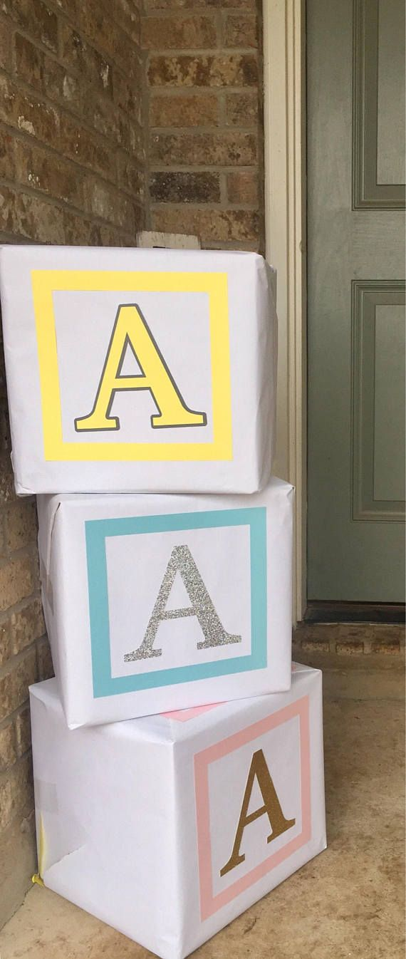 Large Alphabet Block Borders And Letters Diy Used To Make 12