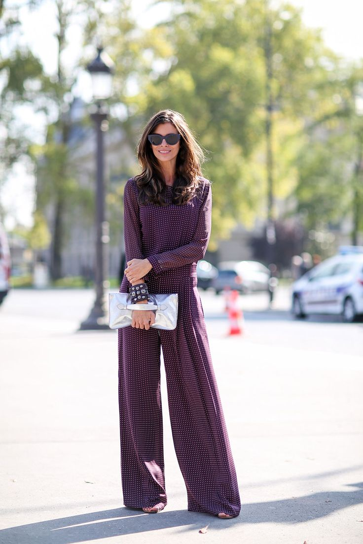 80 French Style Lessons To Learn Now #refinery29  http://www.refinery29.com/2014/10/75565/paris-street-style-photos-fashion-week-2014#slide79  Don't: Be afraid to do one print all over.