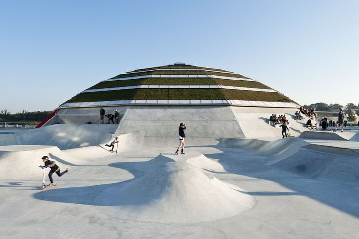 StreetDome, Haderslev, Denmark by Danish architecture and design practices CEBRA and Glifberg+Lykke