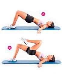 Resultado de imagen para ejercicios para aumentar caderas