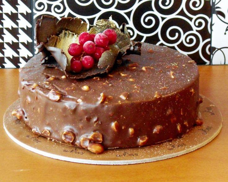 Τούρτα σοκολάτα με κάστανο….χωρίς παντεσπάνι