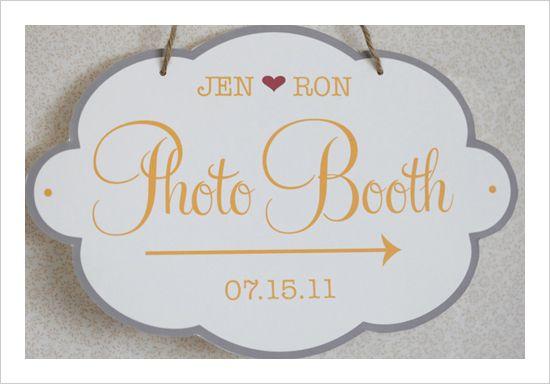 Custom Photobooth Sign