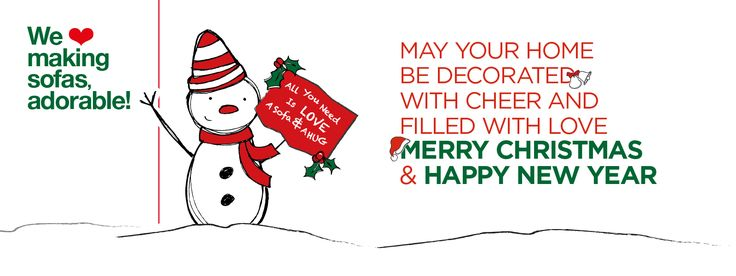 Merry X-mas ! by sofa copmany! we <3 making sofas, affordable!