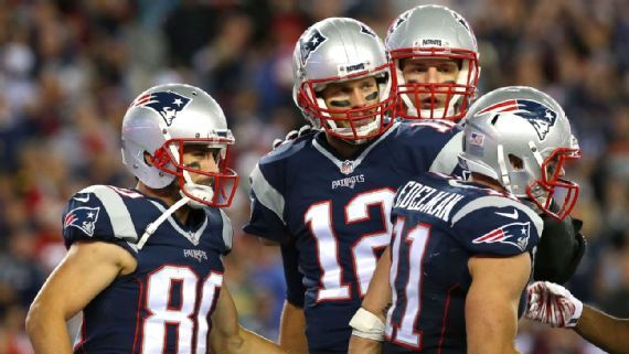 A season full of injuries to Danny Amendola, Julian Edelman and Rob Gronkowski has left Brady, at times, to carry the team on his back. Jim Rogash/Getty Images 2015