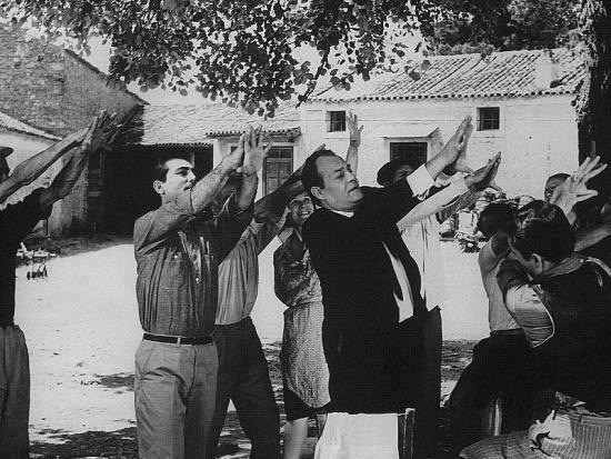 "The ""moutza"", the offensive gesture of an open palm towards someone..sent to the politicians of Greece.."
