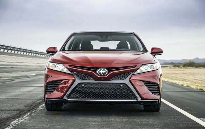 2019 Toyota Camry overview