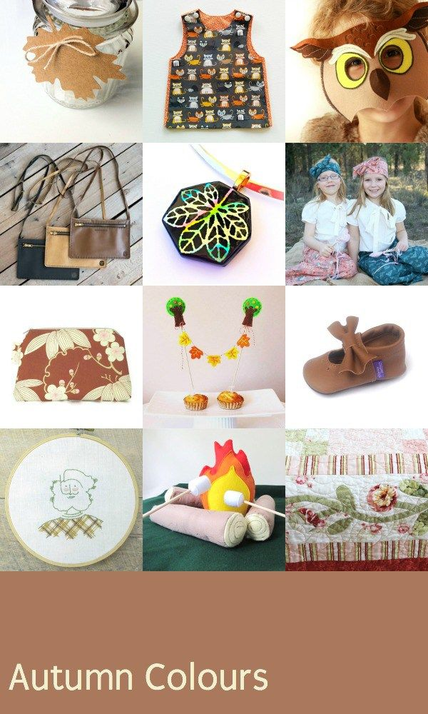 Autumn Colours Gift guide from Handmade Cooperative for kids.