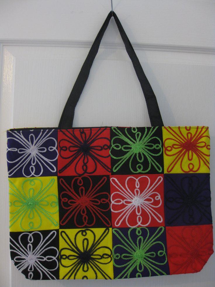 Patchwork Handbag $20 + P  www.facebook.com/vshandbagsanaccessories