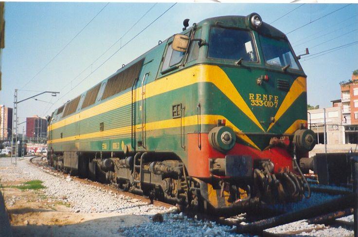Locomotora diésel 333 Renfe (Rambo) : carriles de oro