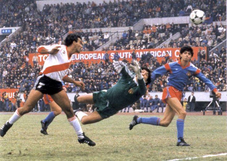 vs river plate 0-1, intercontinental cup final 1986