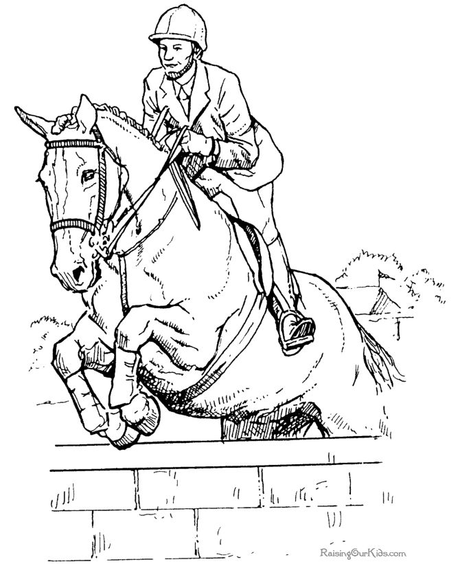 we are presenting some beautiful coloring pages about horses please - Coloring Pages Horses Printable