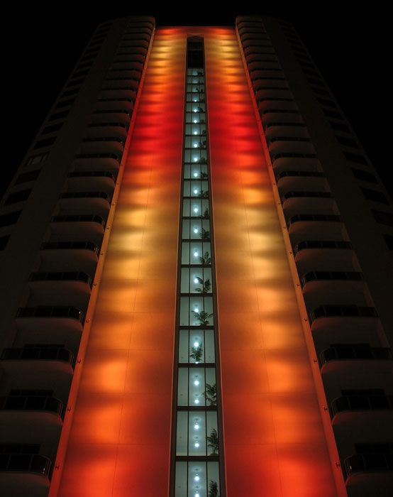 Endeavour Condo Clear Lake Lighting - Philips Color Kinetics
