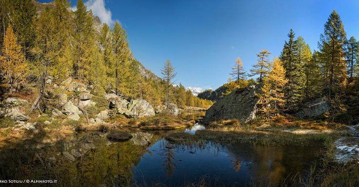 Autumn in the Alps #landscape #photography #photo #nature #travel #art #photooftheday #image #LandscapePhotography #sky #beinspired #mountainlife #hikingadventures #moutainside #evening #lake #devero #piedmont  #naturalparks #beinspires #mountainlake #italy @best.mountain.artists @redarewoolution @adidasoutdoor
