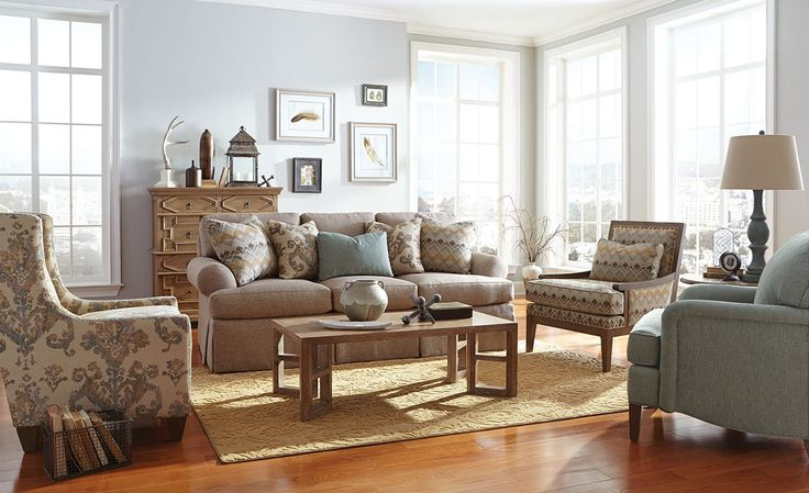 Craftmaster Living Room Sofa 957850 - CraftMaster