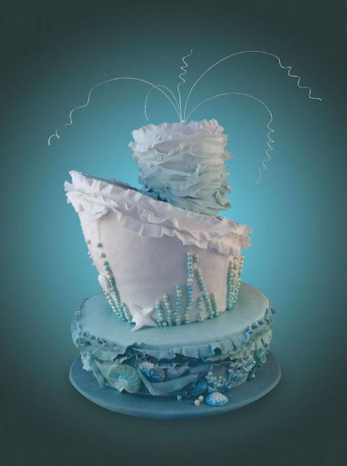 17 Best Images About Under The Sea Cakes On Pinterest