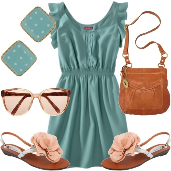 Super cute! Love these colors together: Título 1568, Colors Combos, Cute Outfits, Target Dresses, Aqua Dresses, Colors Together, The Dresses, Super Cute Dresses, Untitled