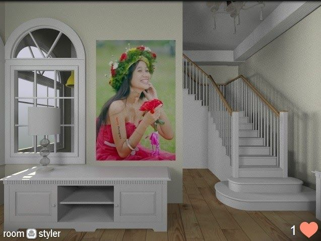 Nuarta Gallery: stairway console