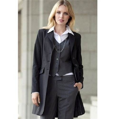 Innovative  Ladies Dress Pants Suit Blazer Jacket Women Small Church Brown  EBay