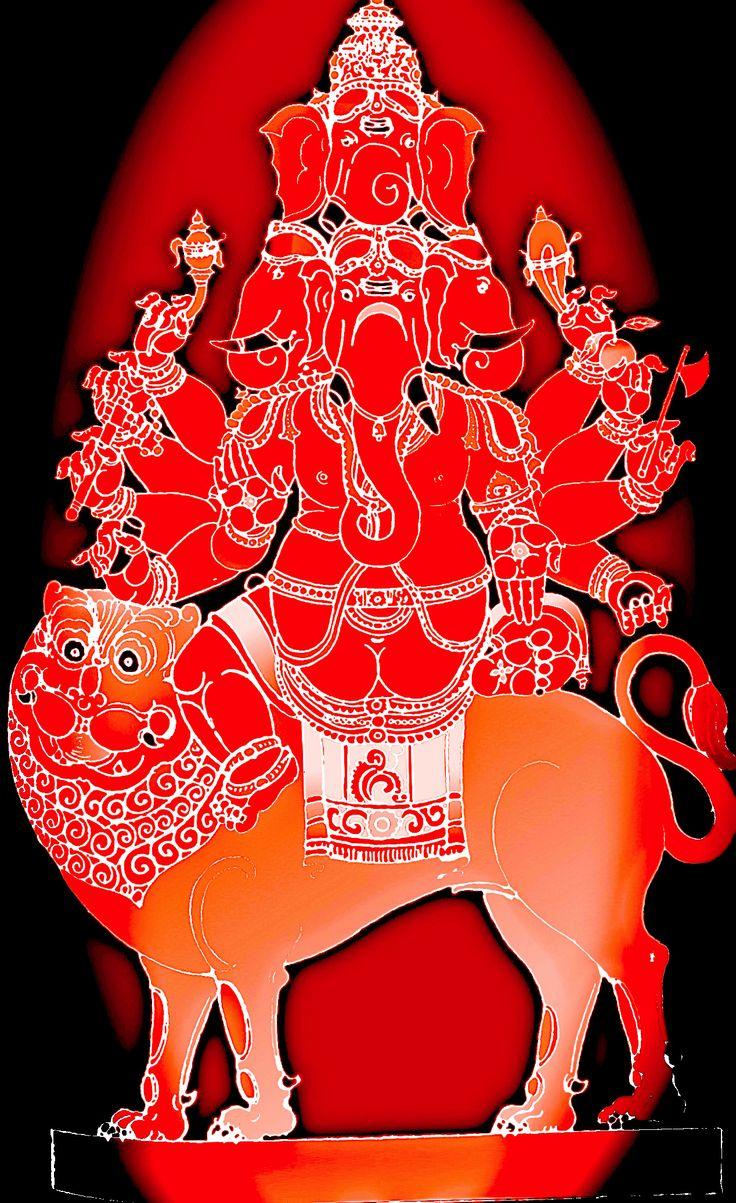 Heramba Ganapati, Panchamukha Ganesha