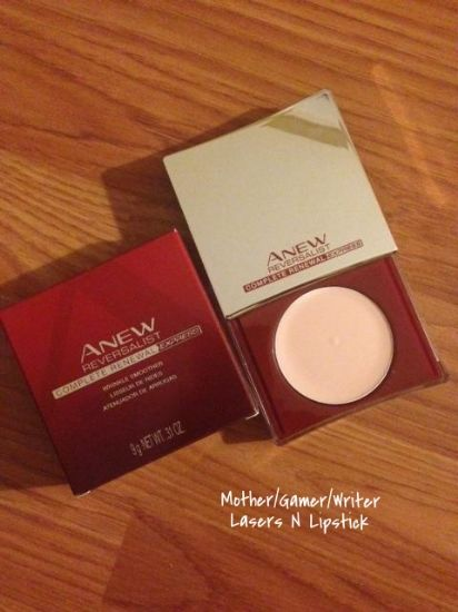 Avon Anew Reversalist Express Wrinkle Smoother  http://lasersnlipstick.empyreanedge.com/influenster-unboxing-tlc-vox-box-review/